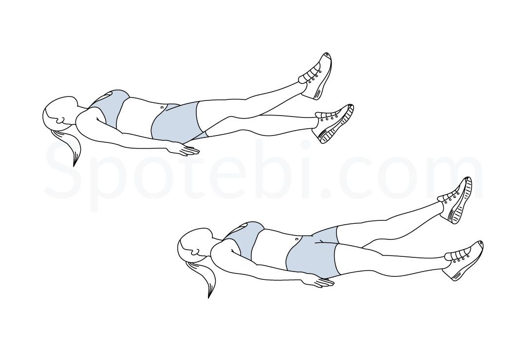 Flutter Kick Workout images