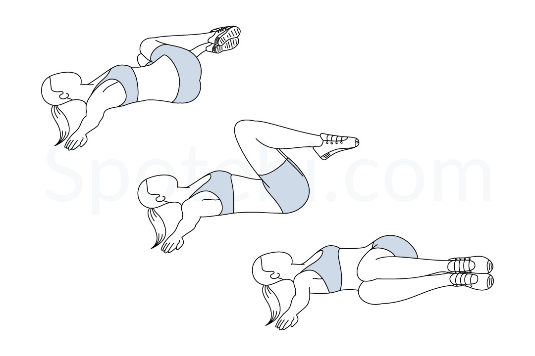 Windshield wipers exercise guide with instructions, demonstration, calories burned and muscles worked. Learn proper form, discover all health benefits and choose a workout. https://www.spotebi.com/exercise-guide/windshield-wipers/