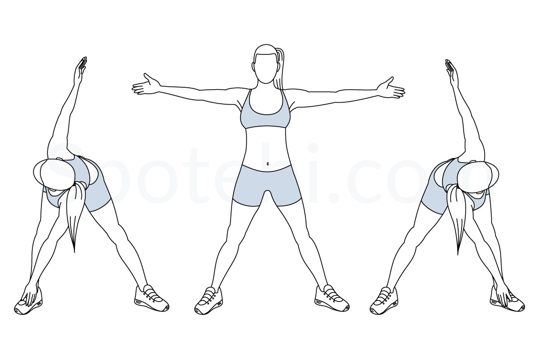 Bent over twist exercise guide with instructions, demonstration, calories burned and muscles worked. Learn proper form, discover all health benefits and choose a workout. https://www.spotebi.com/exercise-guide/bent-over-twist/