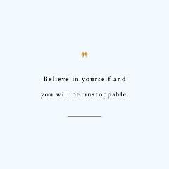 Believe In Yourself Fitness Motivation / @spotebi