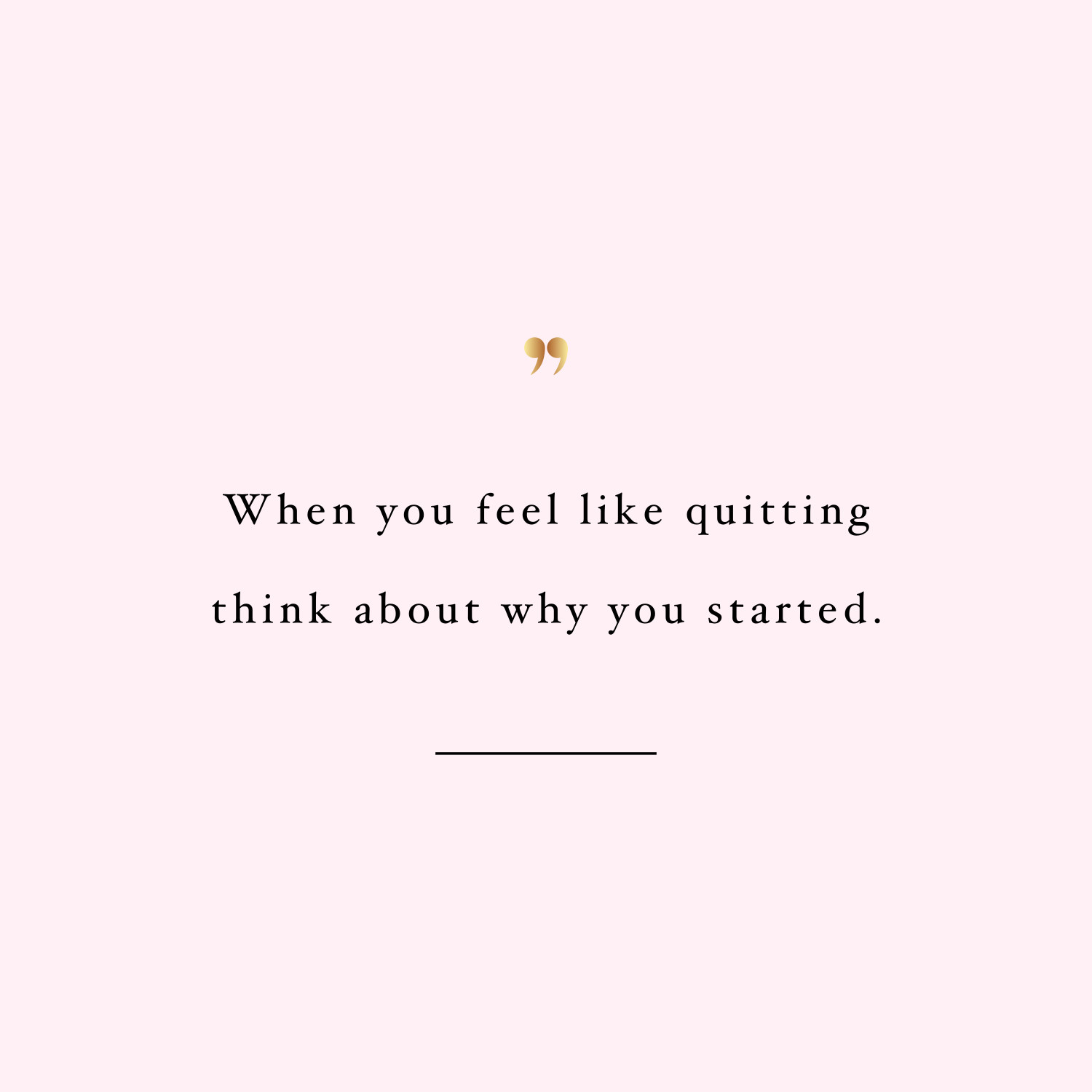 Don't quit! Browse our collection of inspirational fitness quotes and get instant workout and exercise motivation. Stay focused and get fit, healthy and happy! https://www.spotebi.com/workout-motivation/fitness-quote-dont-quit/