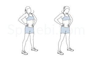 Neck rolls exercise guide with instructions, demonstration, calories burned and muscles worked. Learn proper form, discover all health benefits and choose a workout. http://www.spotebi.com/exercise-guide/neck-rolls/