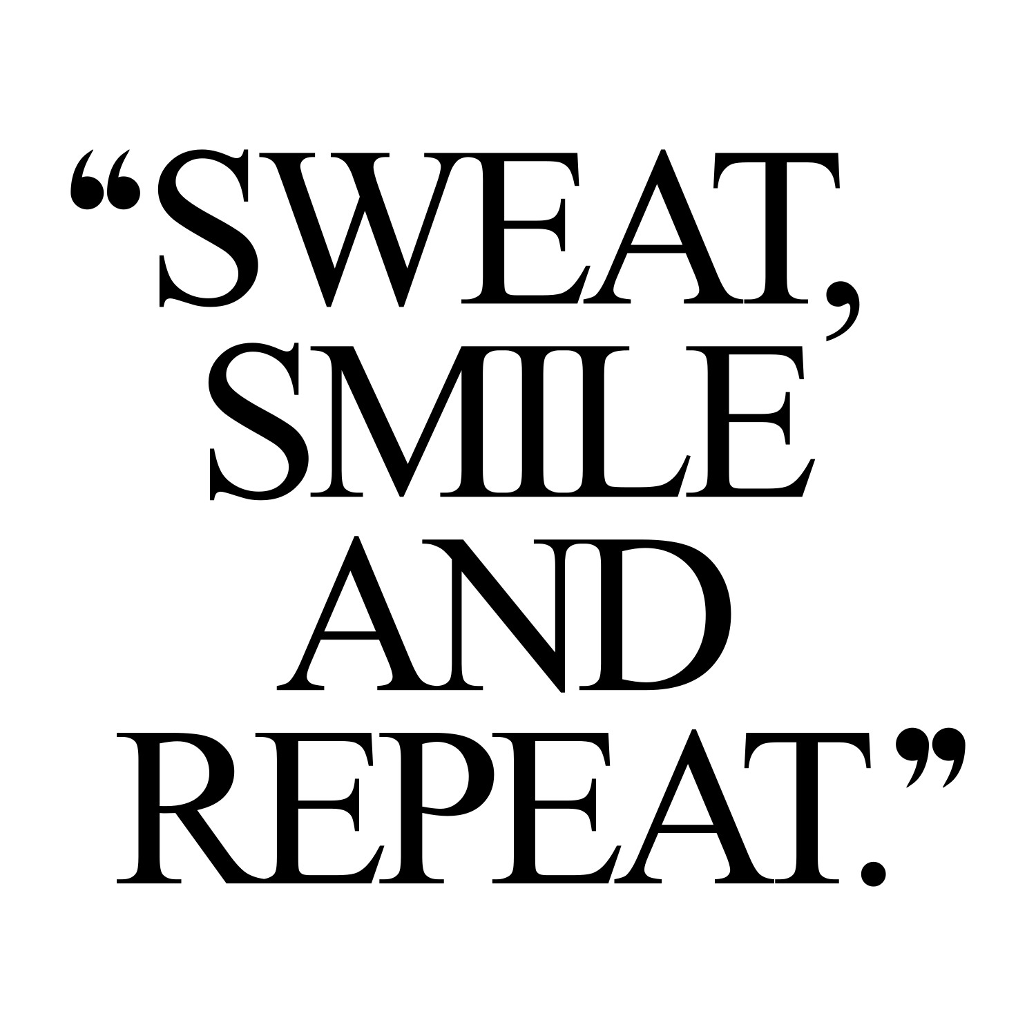 Positive Workout Quotes: Exercise Motivation Quote