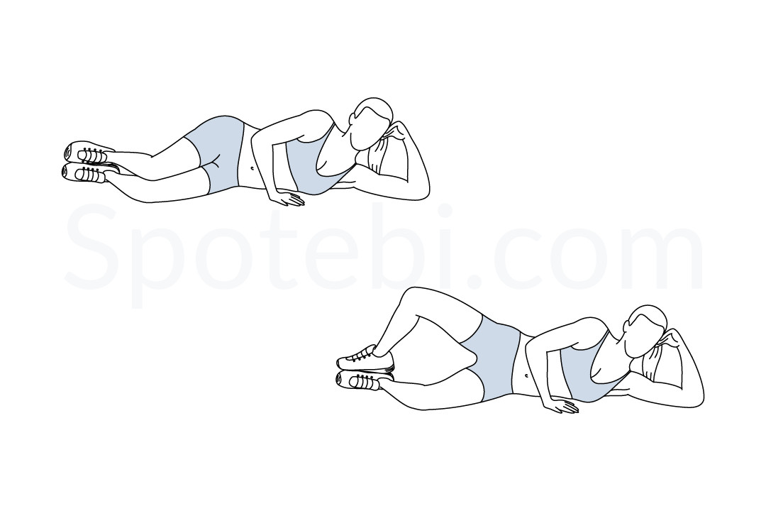 Clamshell Exercise Video Clamshell Exercise Guide With