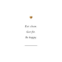 Be Happy Motivational Exercise Quote / @spotebi
