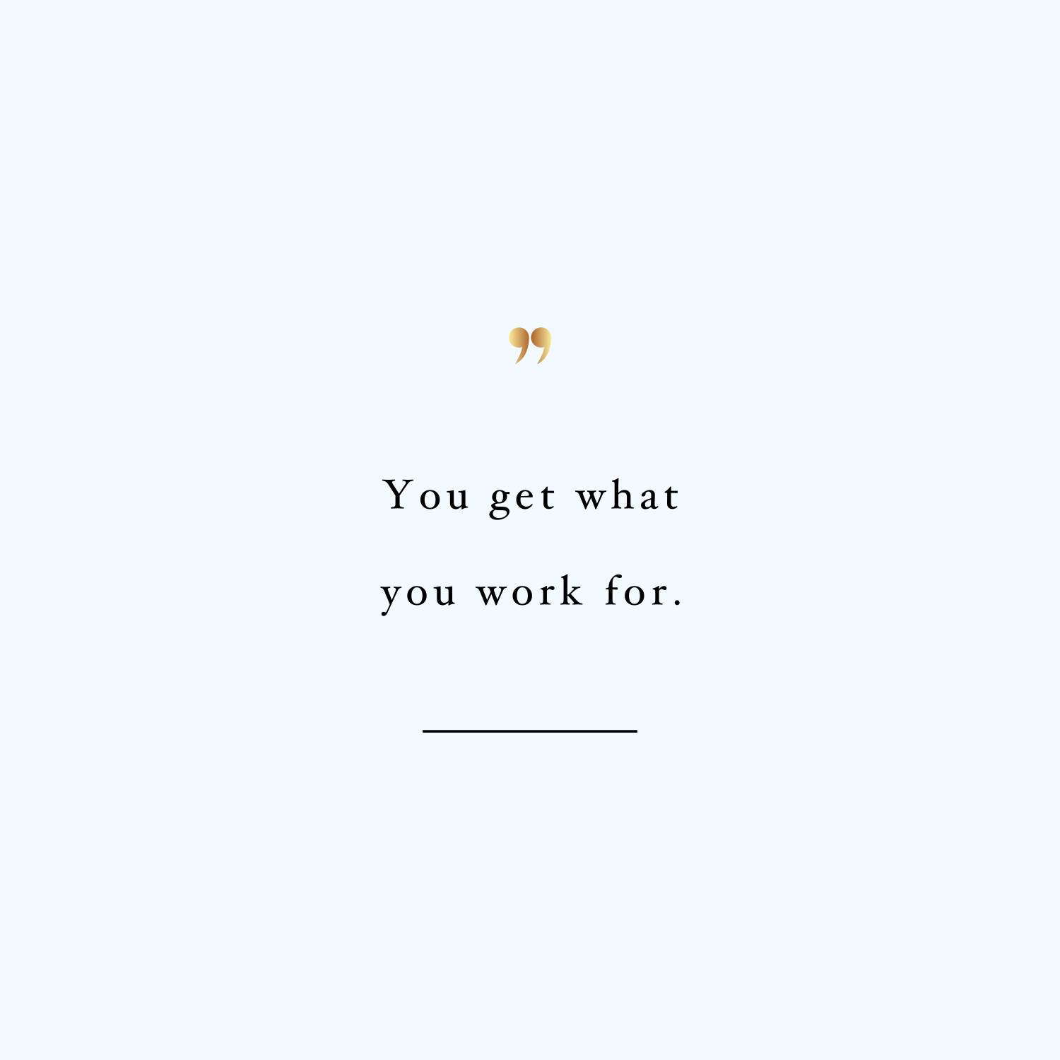 Work For It Exercise Inspiration Quote