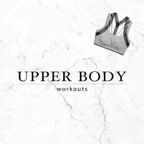 While cardio is important for warming up the body and losing weight, strength training exercises will give you the best aesthetics possible. Doing upper body workouts once or twice a week can improve your posture and give you a more toned, slim and feminine appearance. https://www.spotebi.com/workout-routines/upper-body-workouts/