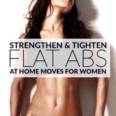 Flat Abs Workout For Women / @spotebi
