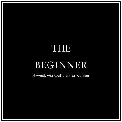 Are you new to working out? Our 4-week beginner workout plan for women is perfect to jump start your metabolism and improve your fitness level. Lose body fat, gain lean muscle and take control of your life and health! http://www.spotebi.com/workout-plans/4-week-beginner-women/