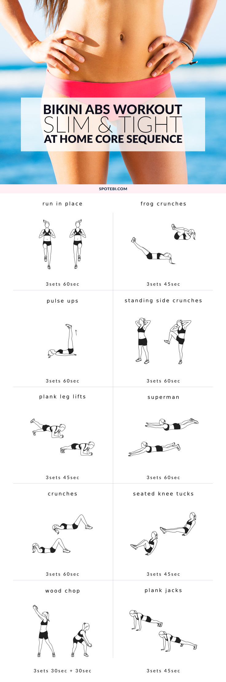core workouts at home at home abs workout 30667
