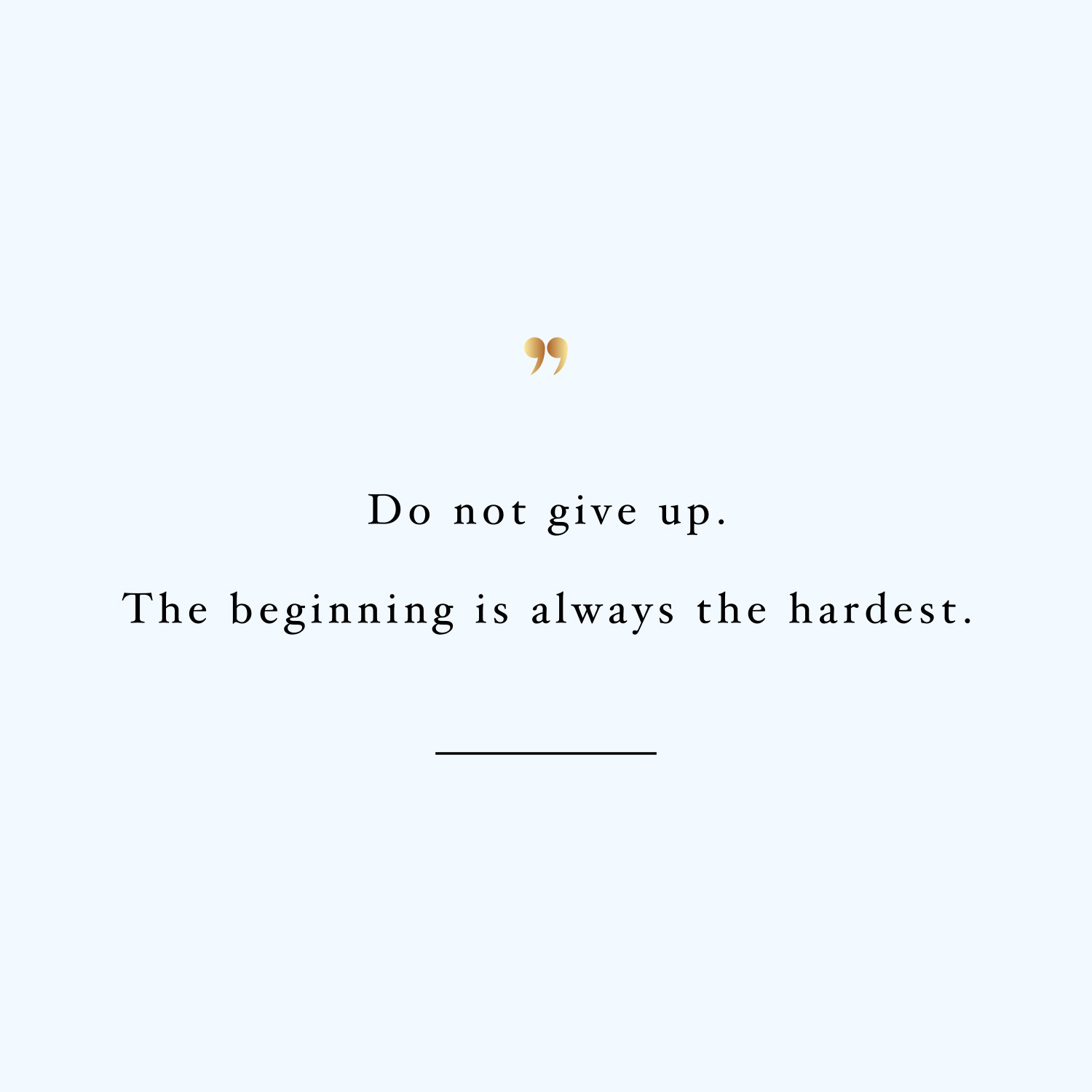 The beginning is the hardest! Browse our collection of inspirational training quotes and get instant exercise and weight loss motivation. Transform positive thoughts into positive actions and get fit, healthy and happy! https://www.spotebi.com/workout-motivation/beginning-is-hardest-inspirational-training-quote/