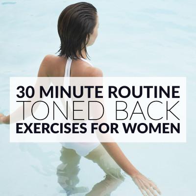 10 Moves To Banish Bra Bulge | Back Workout For Women / @spotebi