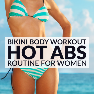 30 Minute Ab Workout Routine For Women / @spotebi