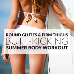 At Home Bikini Body Glute Workout / @spotebi