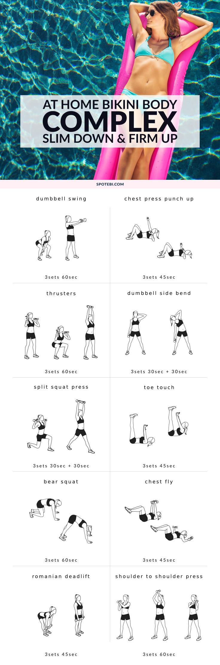 Bikini Body Complex | Full Body Workout For Women