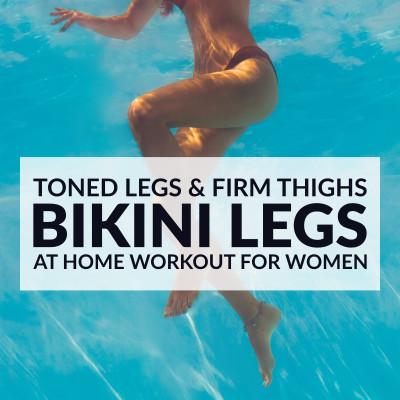 Bikini Body Leg Workout For Women / @spotebi