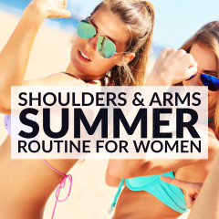 Shoulders & Arms Workout For Women / @spotebi