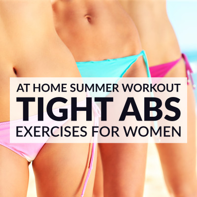 Bikini Body Tight Tummy Workout / @spotebi