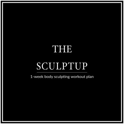 Work all muscle groups and sculpt a tight, toned body with the Bikini Body SculptUp Week. This 6 Day Workout Plan is designed to help you build calorie-torching lean muscle, boost your metabolism and improve your overall strength and body aesthetics! http://www.spotebi.com/workout-plans/bikini-body-sculpt-up-week/