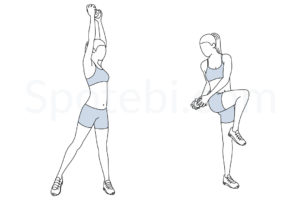 Balance chop exercise guide with instructions, demonstration, calories burned and muscles worked. Learn proper form, discover all health benefits and choose a workout. http://www.spotebi.com/exercise-guide/balance-chop/
