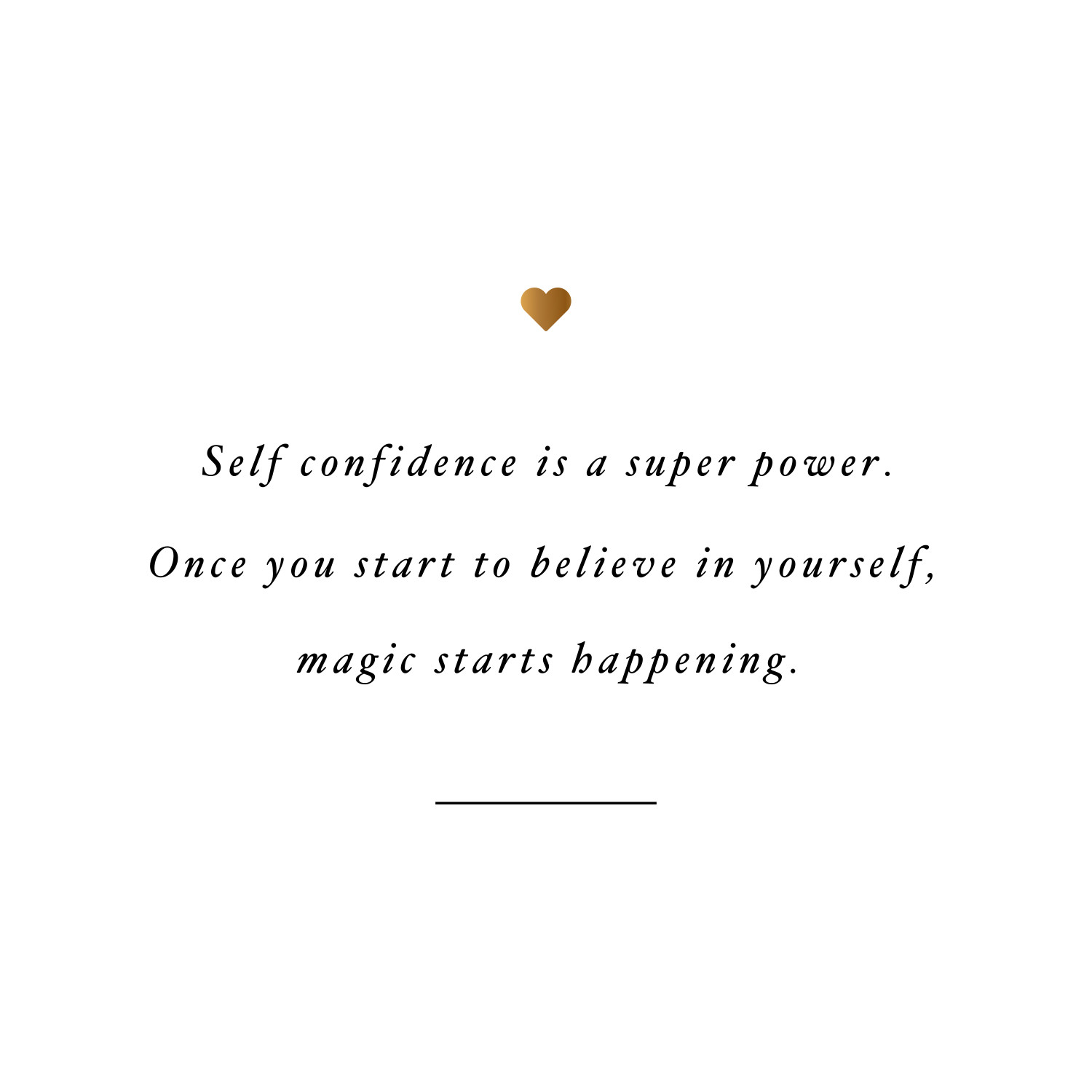 self confidence is a super power exercise and training