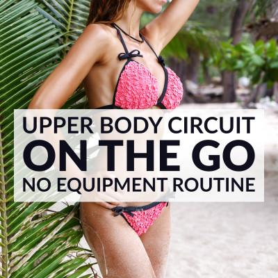 Upper Body Bodyweight Exercises / @spotebi