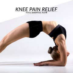 Yoga Essential Flow | Knee Pain Relief Sequence / @spotebi