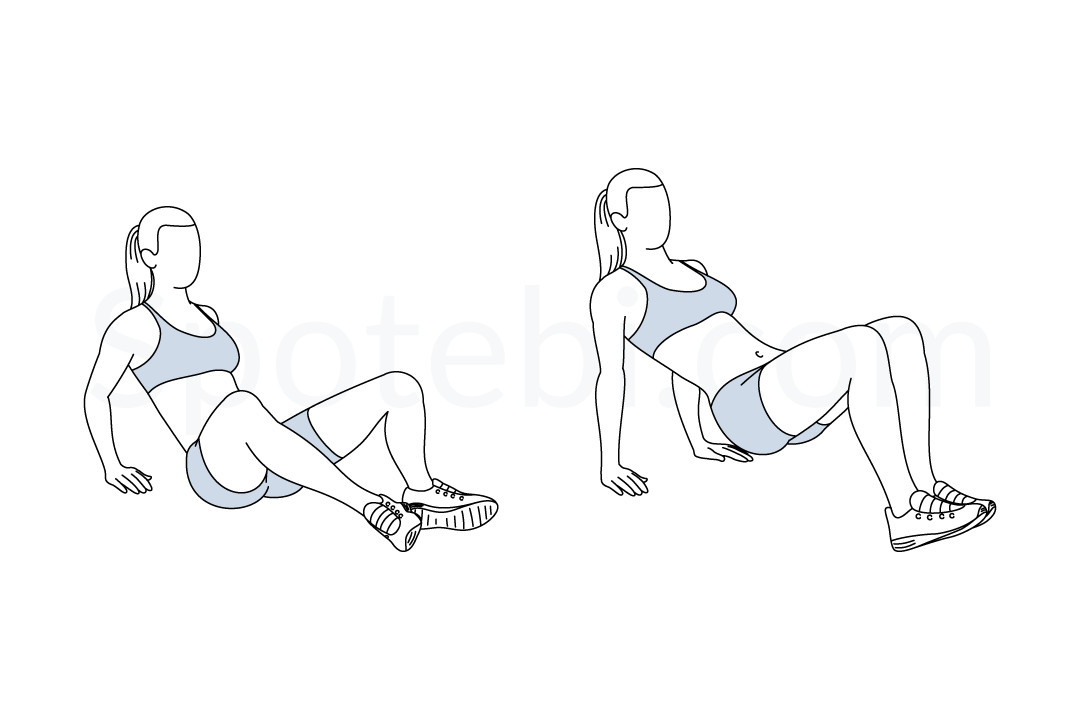 Butterfly dips exercise guide with instructions, demonstration, calories burned and muscles worked. Learn proper form, discover all health benefits and choose a workout. http://www.spotebi.com/exercise-guide/butterfly-dips/