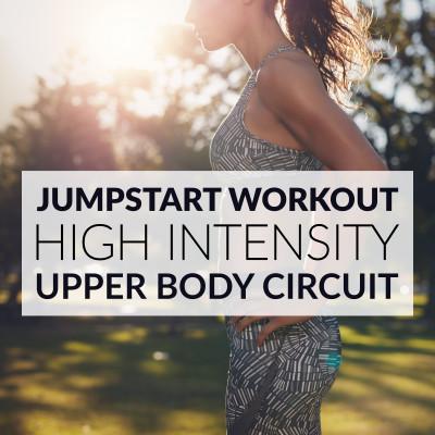 High Intensity Upper Body Workout / @spotebi