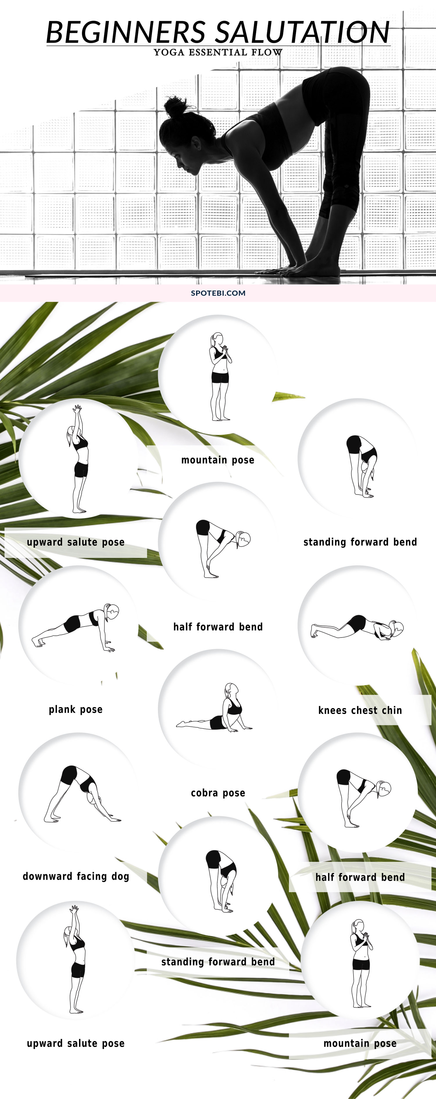 If you're new to yoga and want to start the day with an invigorating sequence, try this 15-minute beginners salutation flow. Move slowly through the poses and synchronize the breath with each posture to energize your body and mind! https://www.spotebi.com/yoga-sequences/beginners-salutation-flow/