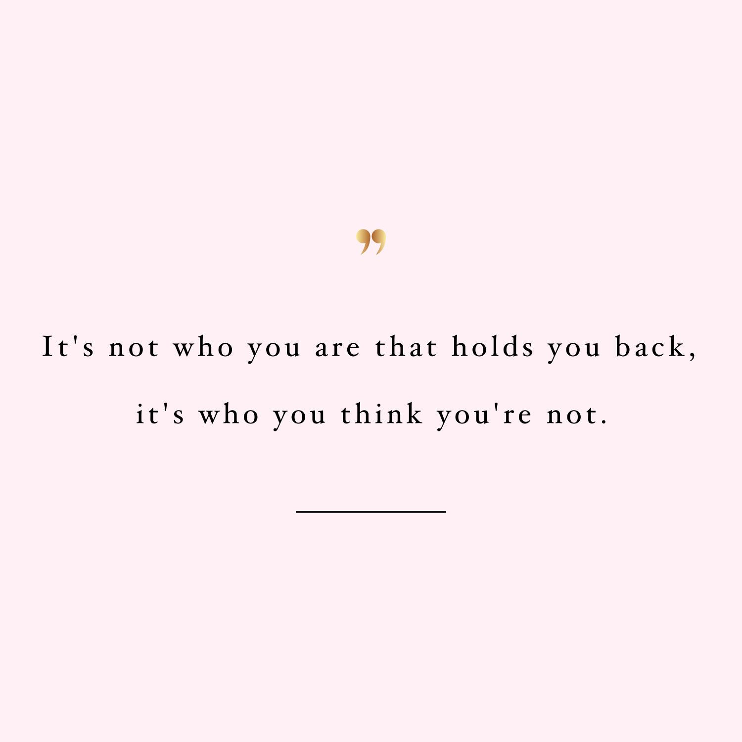 Don't hold yourself back! Browse our collection of inspirational healthy lifestyle quotes and get instant weight loss and training motivation. Stay focused and get fit, healthy and happy! https://www.spotebi.com/workout-motivation/dont-hold-yourself-back/