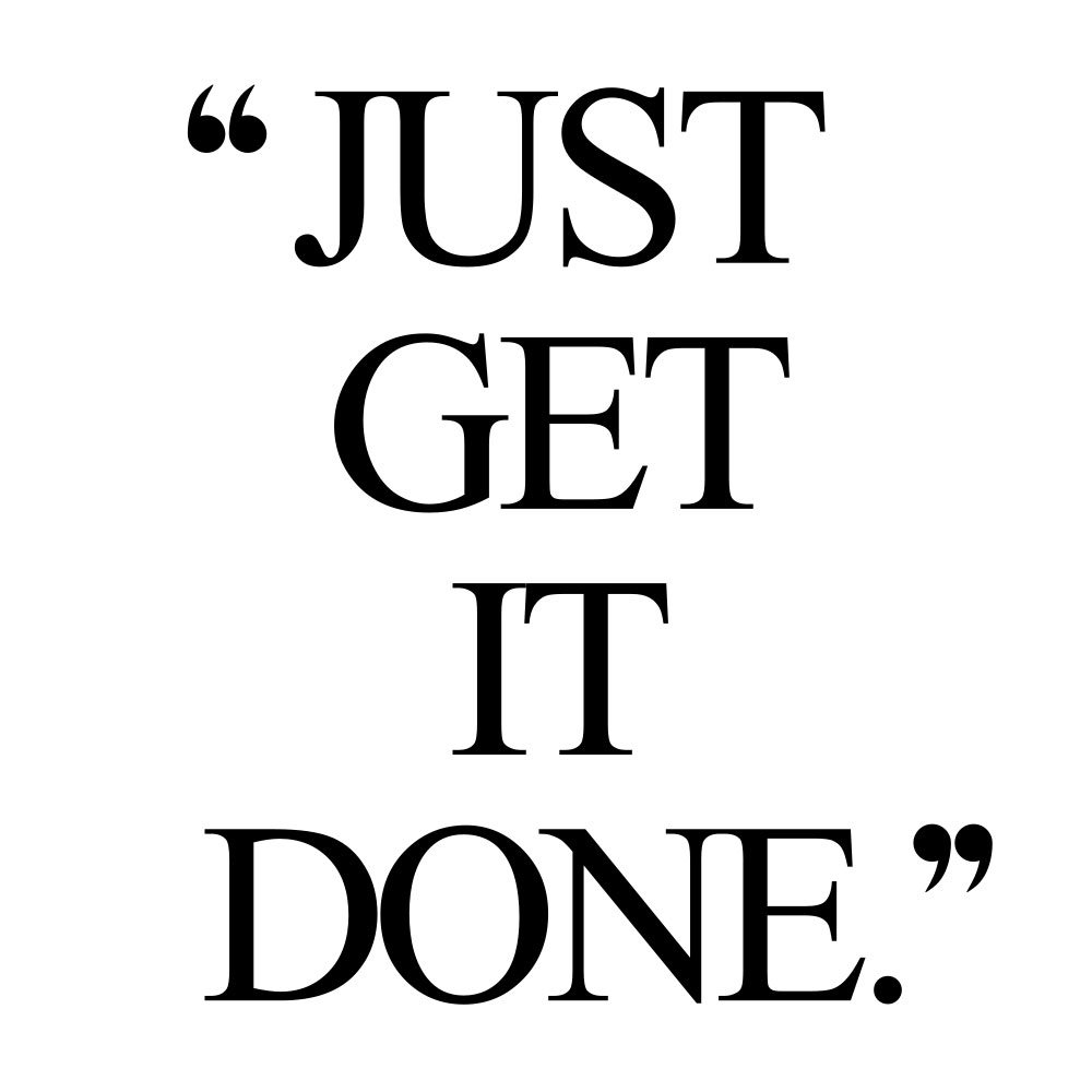 Just get it done! Browse our collection of inspirational fitness and healthy lifestyle quotes and get instant health and wellness motivation. Stay focused and get fit, healthy and happy! https://www.spotebi.com/workout-motivation/just-get-it-done/