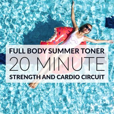 20 Minute Full Body Summer Workout / @spotebi