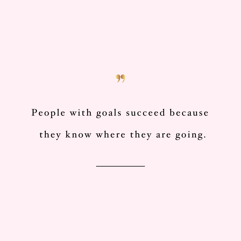 Let your goals guide you! Browse our collection of self-love and wellness motivational quotes and get instant fitness and healthy lifestyle inspiration. Stay focused and get fit, healthy and happy! https://www.spotebi.com/workout-motivation/let-your-goals-guide-you/
