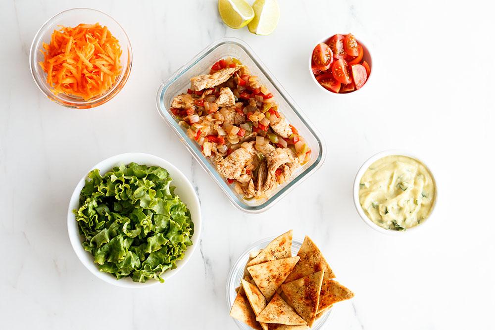 Mexican Turkey Stir-Fry Recipe: A high-protein, low-calorie filling for tacos, tostadas, burritos, and enchiladas! https://www.spotebi.com/recipes/mexican-turkey-stir-fry/