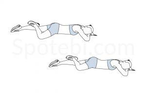 Hip External Rotation Exercise Guide / @spotebi