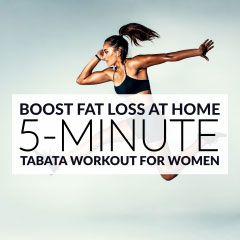Tabata Training: A 5-Minute Workout to Boost Fat Loss / @spotebi