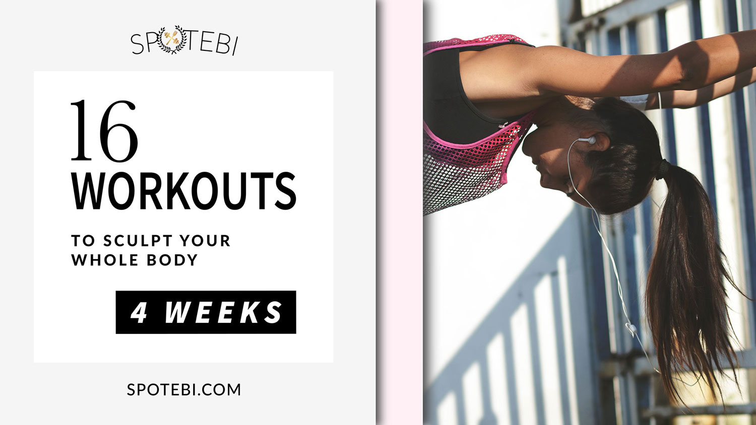 Sculpt, tone and tighten each muscle of your gorgeous body and show off the results of your hard work with our 4-Week Body Sculpting Workout Plan for women! Improve your body aesthetics, build long and lean muscle and start working towards the body you've always wanted!