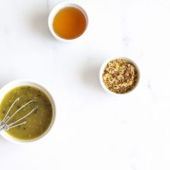 Honey Mustard Salad Dressing Recipe / @spotebi