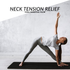 Yoga Essential Flow | Neck, Shoulder & Upper Back Tension Relief Sequence / @spotebi