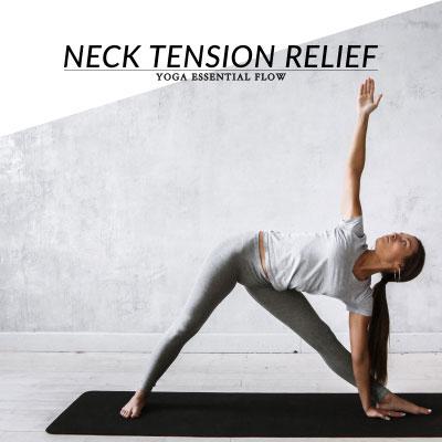 Yoga Essential Flow | Neck, Shoulder & Upper Back Tension Relief Sequence / @spotebi