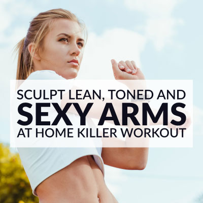 Sexy ARMS WORKOUT to Sculpt Lean, Long and Feminine Arms! / @spotebi