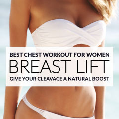 Best CHEST WORKOUT for Women: Lift and Firm your Breasts Naturally! / @spotebi