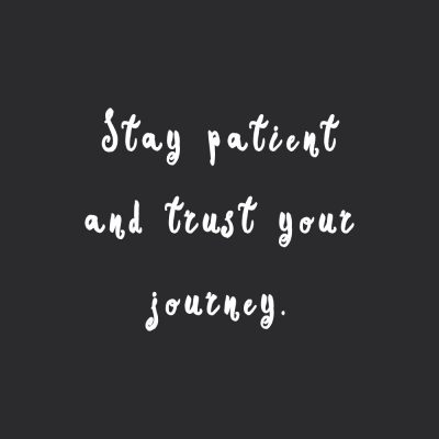 Stay Patient | Self-Love Motivation / @spotebi