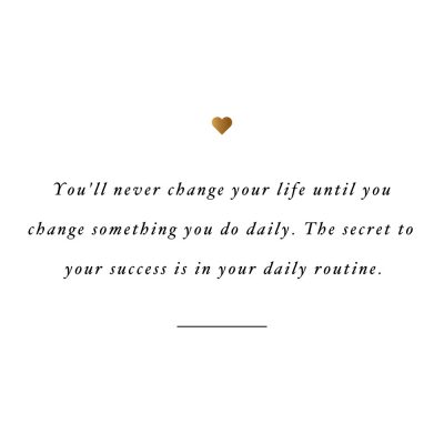 The Secret To Success | Self-Love And Fitness Quote / @spotebi