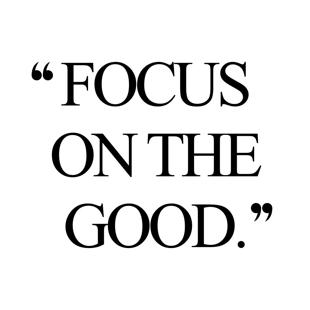 Focus on the good! Browse our collection of inspirational self-love and fitness quotes and get instant health and wellness motivation. Stay focused and get fit, healthy and happy! https://www.spotebi.com/workout-motivation/focus-on-the-good/