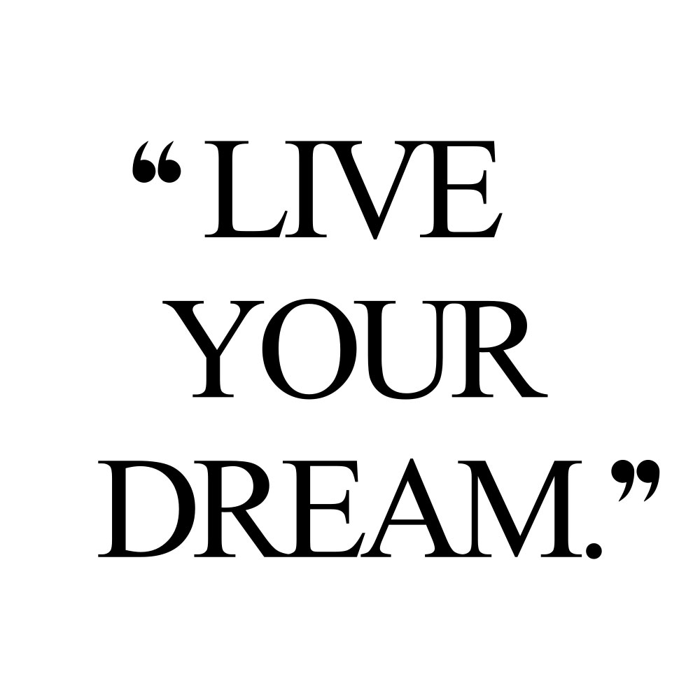 Live your dream! Browse our collection of motivational fitness and wellness quotes and get instant weight loss and healthy lifestyle inspiration. Stay focused and get fit, healthy and happy! https://www.spotebi.com/workout-motivation/live-your-dream/