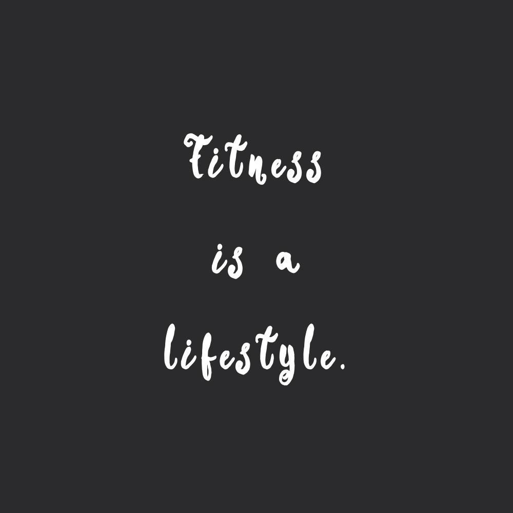 Fitness is a lifestyle! Browse our collection of inspirational self-love and healthy lifestyle quotes and get instant fitness and wellness motivation. Stay focused and get fit, healthy and happy! https://www.spotebi.com/workout-motivation/fitness-is-a-lifestyle/