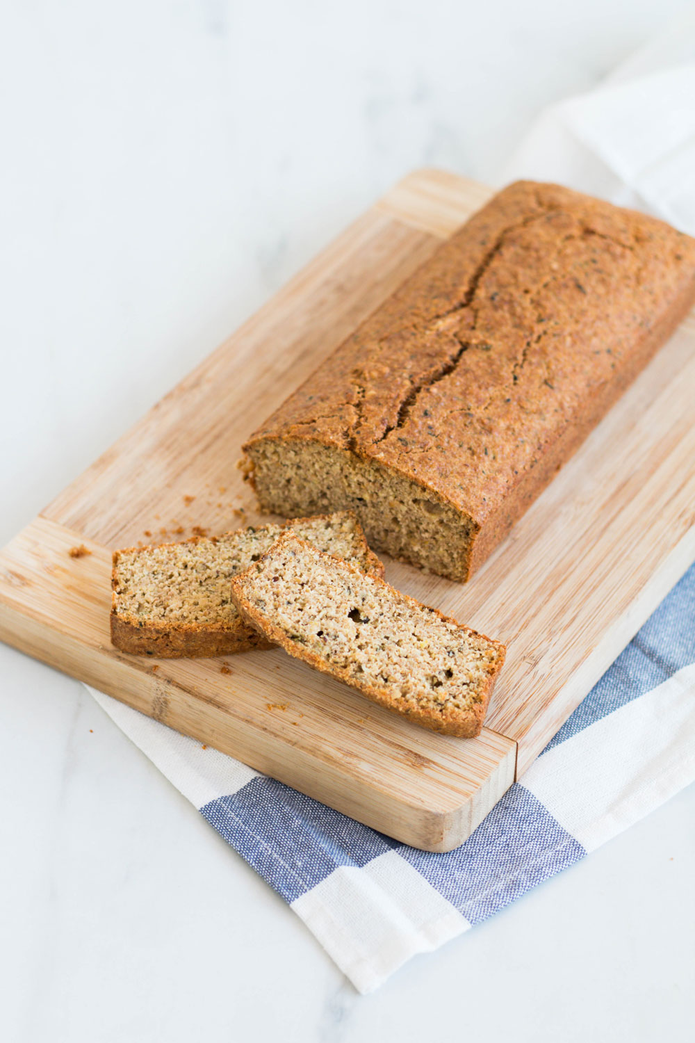 High Protein & High Omega-3 Gluten-Free Bread with a Meditteranean-style flavor that's perfect for sandwiches, egg and spinach toasts or to make healthier breadcrumbs or croutons for your soups and salads. https://www.spotebi.com/recipes/high-protein-omega-3-gluten-free-bread/