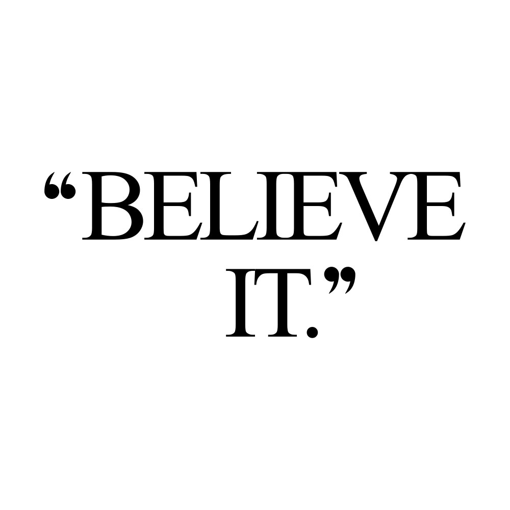 Believe it! Browse our collection of inspirational training and healthy eating quotes and get instant fitness and wellness motivation. Stay focused and get fit, healthy and happy! https://www.spotebi.com/workout-motivation/believe-it/